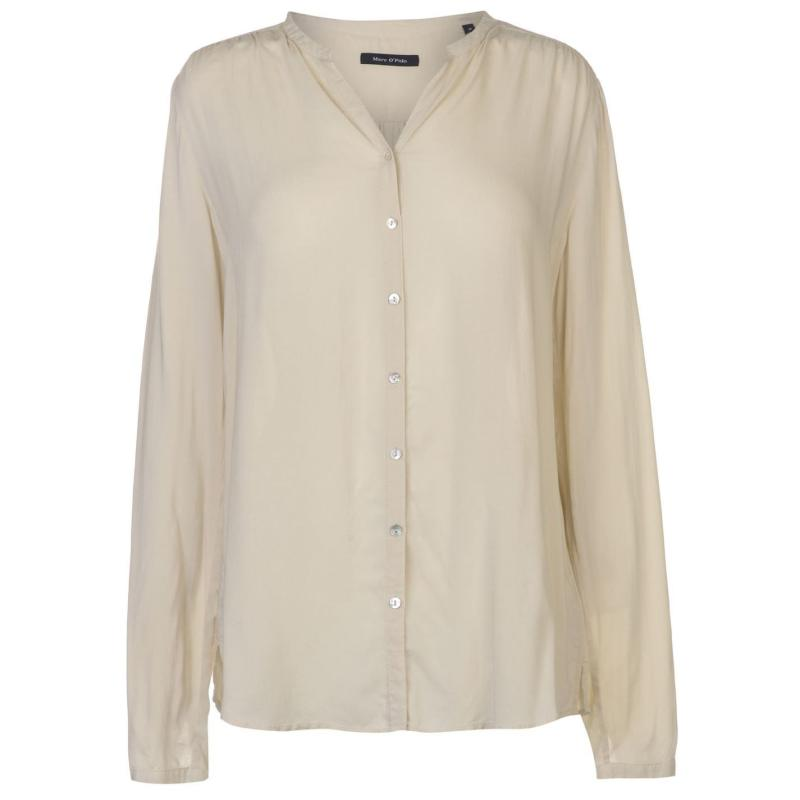 Košile Marc O Polo Long Sleeved Blouse Ladies Sky-823