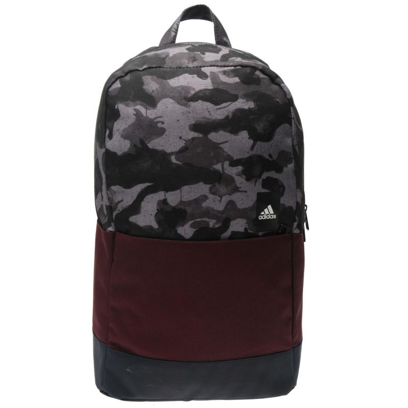 adidas Class M Backpack Red/Camo, Velikost: ostatní