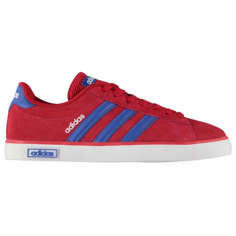 Boty adidas Derby Vulc Suede Trainers Mens Red/Blue/White, Velikost: UK6 (euro 39)