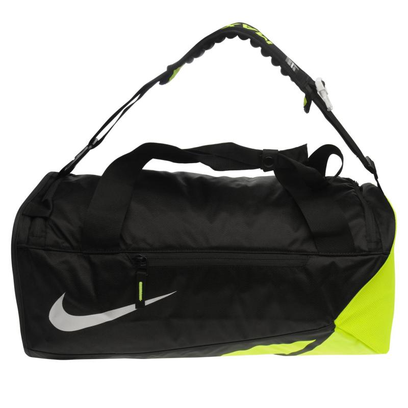 Nike Vapor Max Air Duffel Bag Mens Black/Volt, Velikost: ostatní