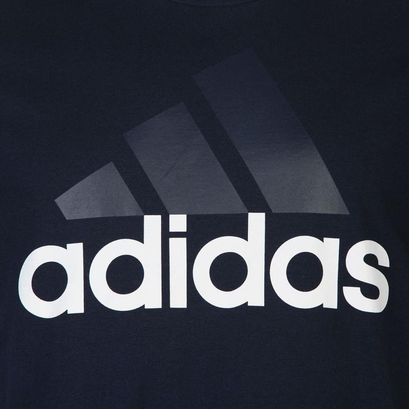Tričko adidas Essential Logo T Shirt Mens Red, Velikost: S