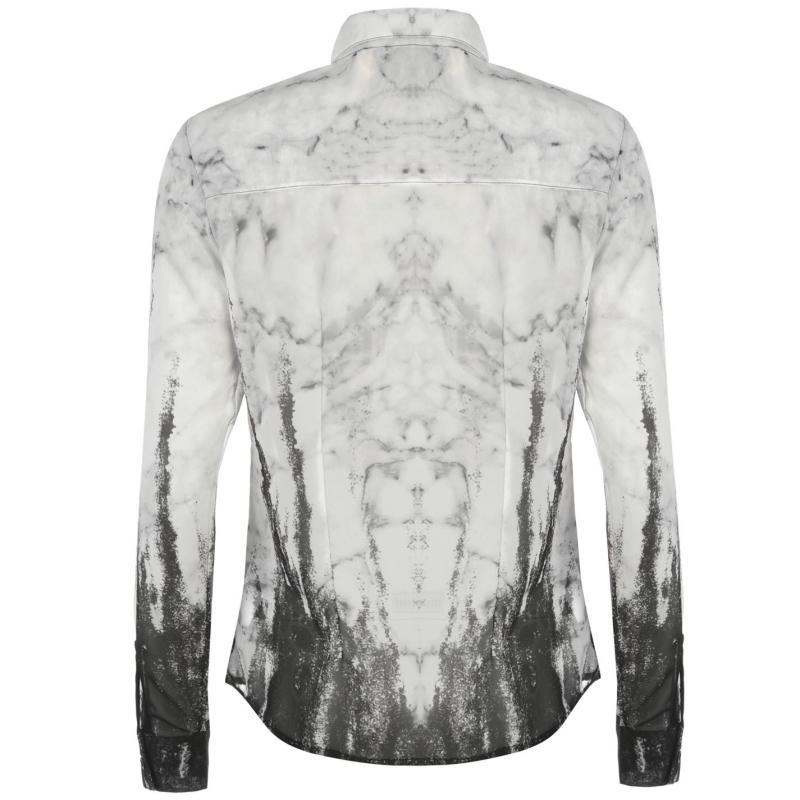 Košile Fearless Illustration Fearless Chiffon Shirt Ladies Narcissa