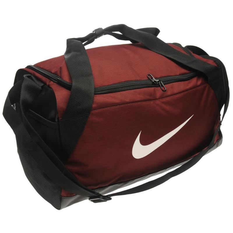 Nike Brasilia Small Grip Bag Red