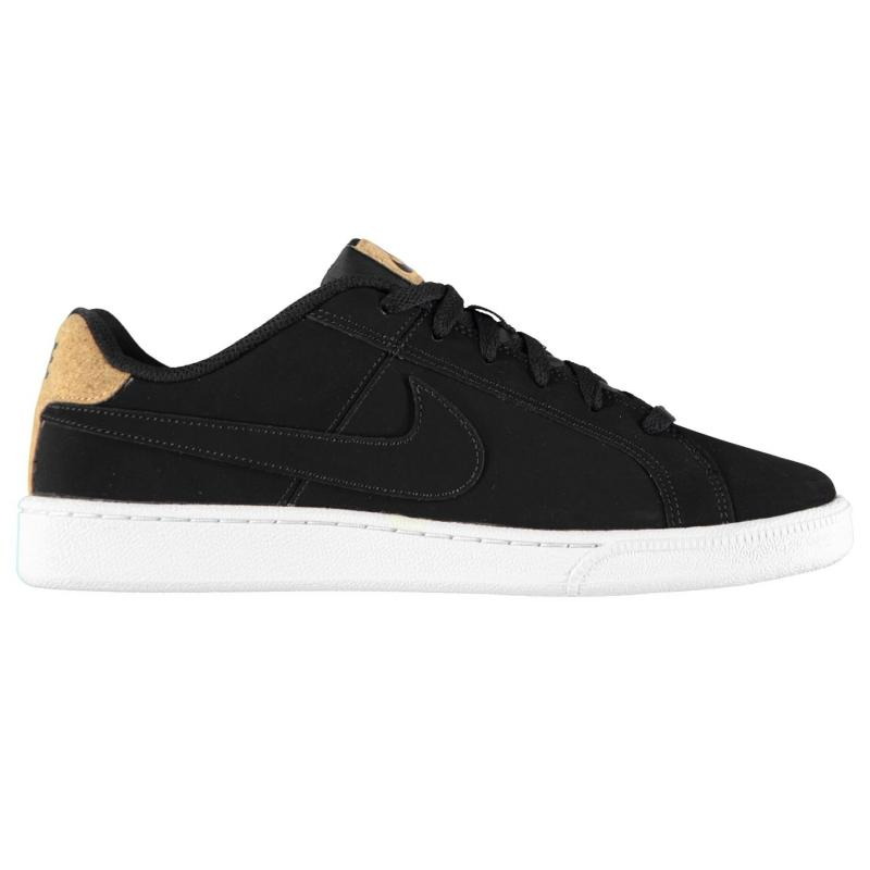 Boty Nike Court Royal Premium Mens Trainers Black/White, Velikost: UK9 (euro 43)