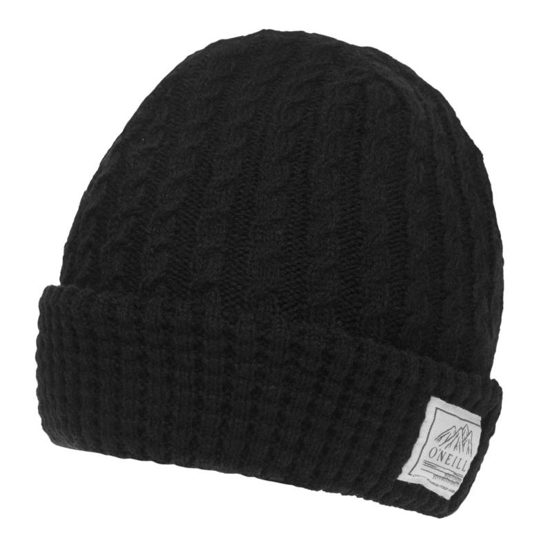 ONeill Classy Beanie Mens Black Out