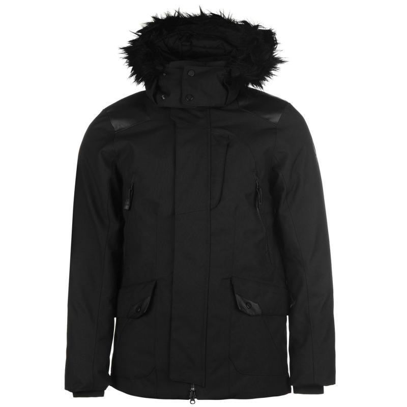 Bunda Spyder Deck Parka Jacket Mens Black, Velikost: S