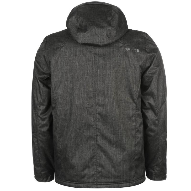 Bunda Spyder Vyrse Jacket Mens Black, Velikost: S