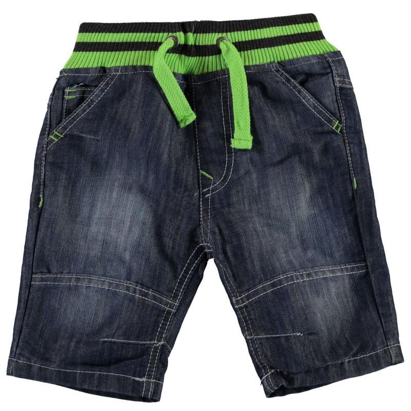 Kraťasy No Fear Ribbed Waist Shorts Boys Light Wash
