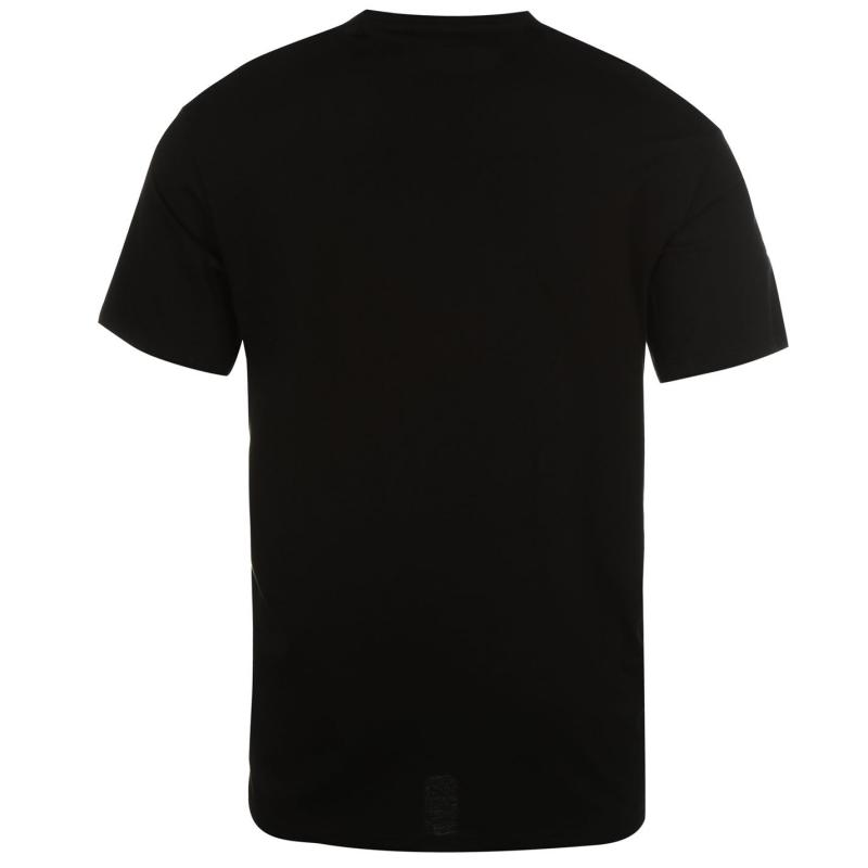 Tričko ONeill Nineteen 52 Short Sleeve T Shirt Mens Black Out