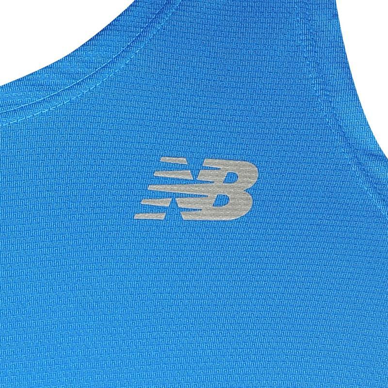 Tílko New Balance Balance Accelerate Vest Mens Blue, Velikost: M