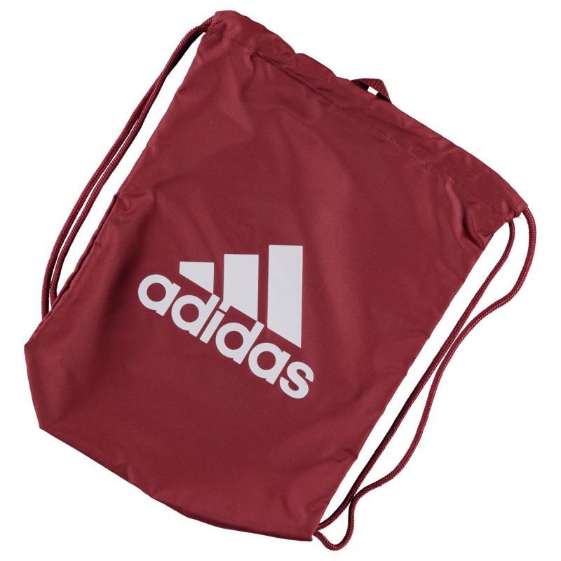 adidas Performance Logo Gym Sack Red