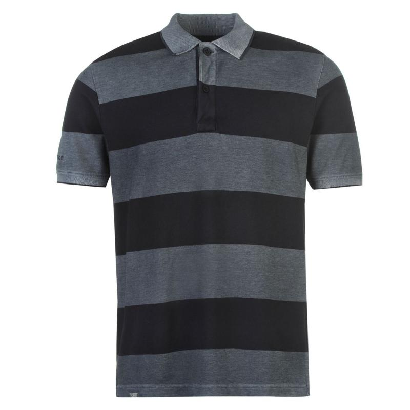 Karrimor Polo Shirt Mens Navy Stripe