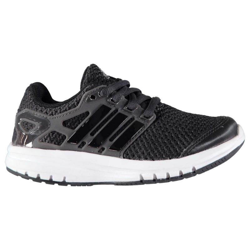 Boty adidas Energy Cloud Running Trainers Child Boys Triple Black