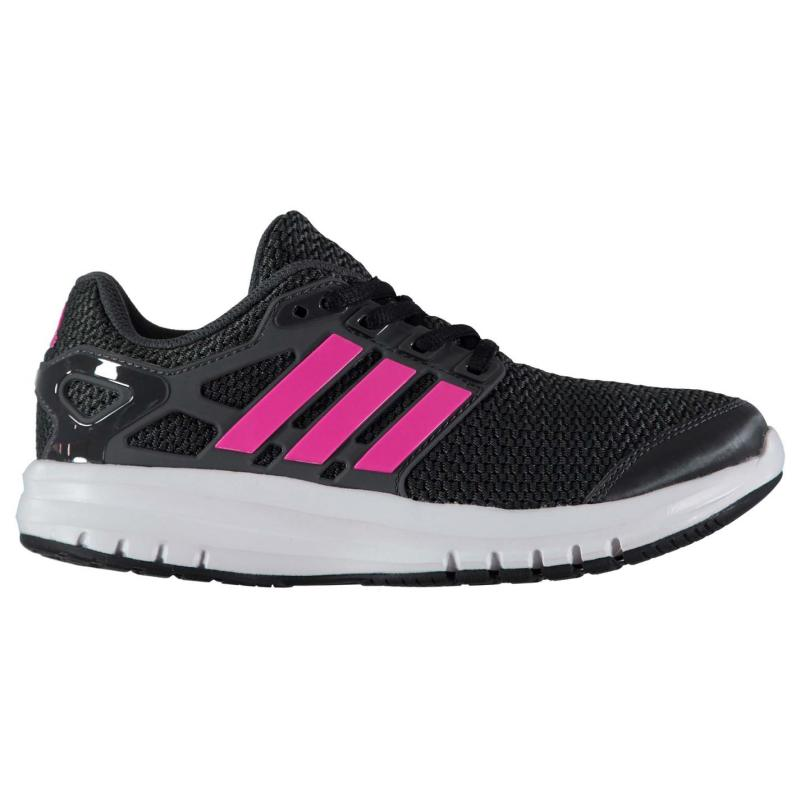 adidas Energy Cloud Running Trainers Junior Girls Black/Pink