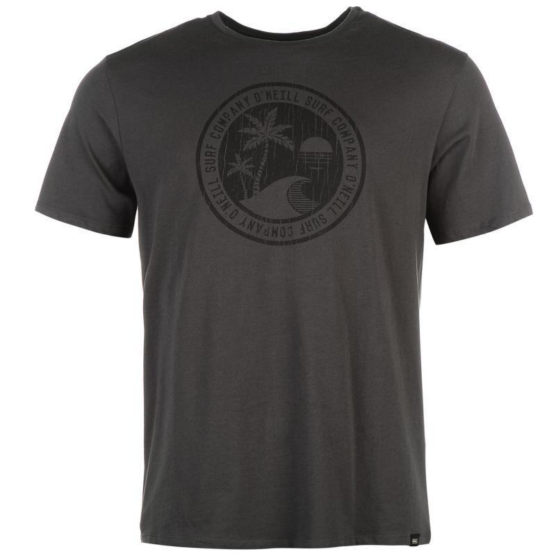 Tričko ONeill Sphere T Shirt Mens Granite