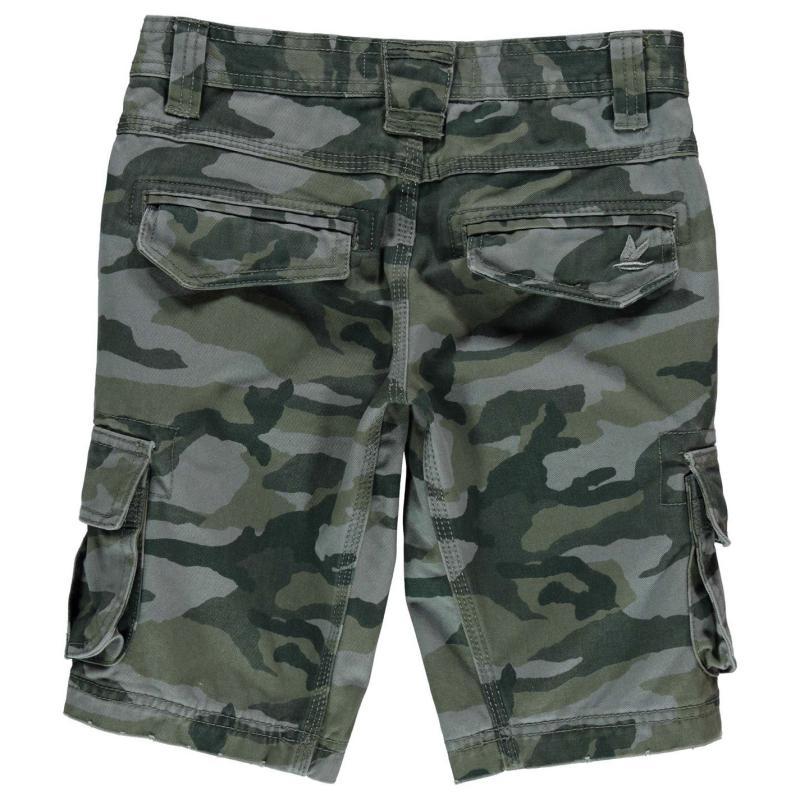 Kalhoty SoulCal Utility Shorts Junior Boys Navy