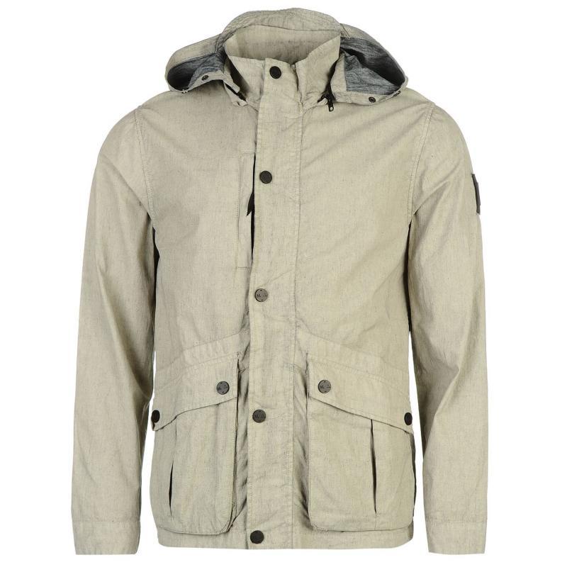 Bunda Marshall Artist Dura Linen Jacket Light Stone