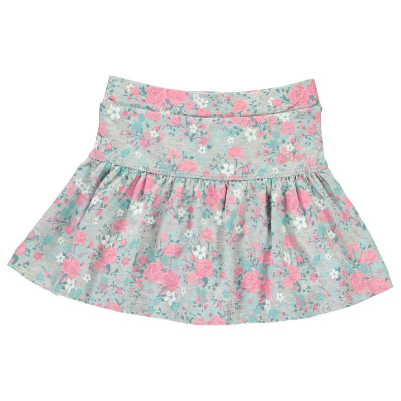 Lee Cooper AOP Skater Skirt Infant Girls AOP Floral