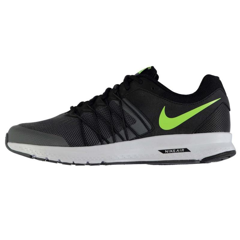 Nike Air Relentless 6 Mens Trainers Black/Volt, Velikost: UK9 (euro 43)