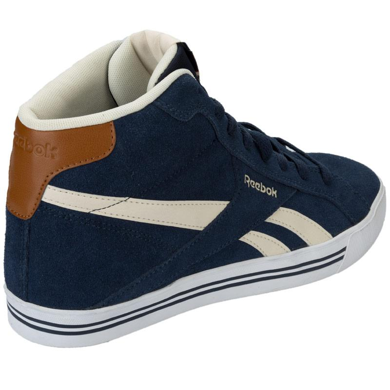 Boty Mens Reebok Royal Complete Trainers Navy, Velikost: 8 (XS)