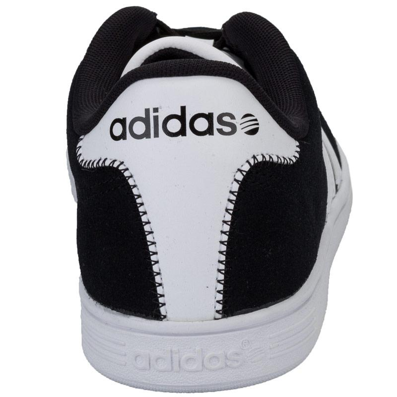 Boty Adidas Neo Mens VL Court Trainers Black-White, Velikost: UK7,5 (euro 41,5)