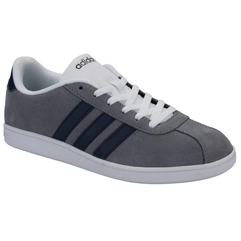 Boty Adidas Neo Mens VL Court Trainers Grey, Velikost: UK6,5 (euro 40)