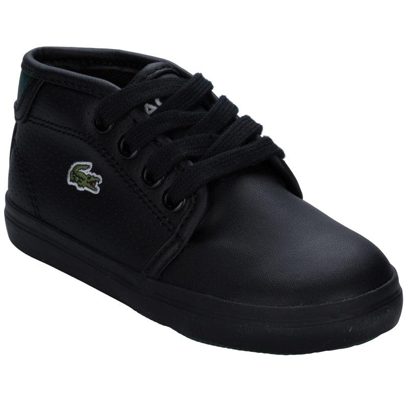 Boty Lacoste Infant Boys Ampthill Trainers Black
