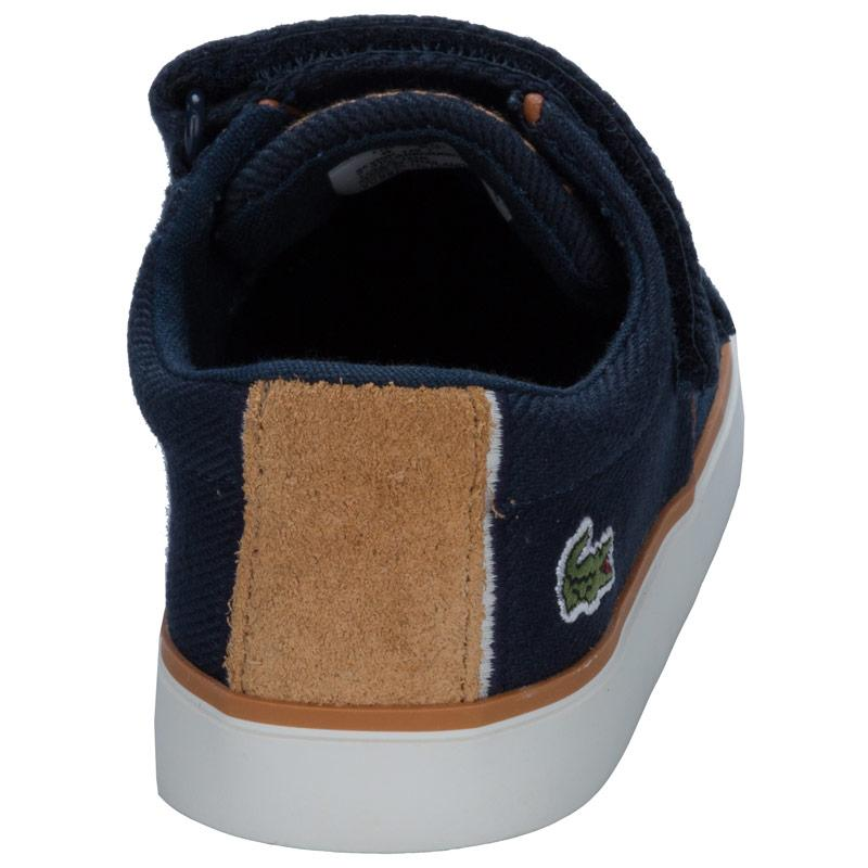 Boty Lacoste Infant Boys Severin Trainers Navy