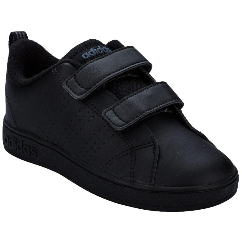 Boty Adidas Neo Infant Boys VS Advantage Clean Trainers Black, Velikost: UK5,5 (euro 38,5)