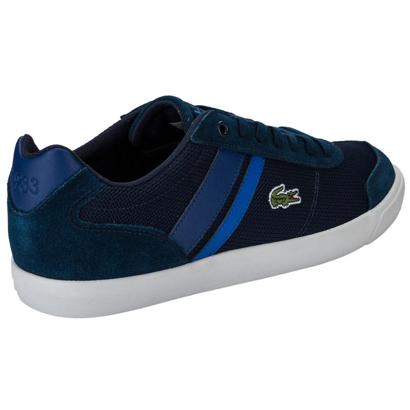 Boty Lacoste Mens Comba Trainers Navy, Velikost: UK11 (euro 46)
