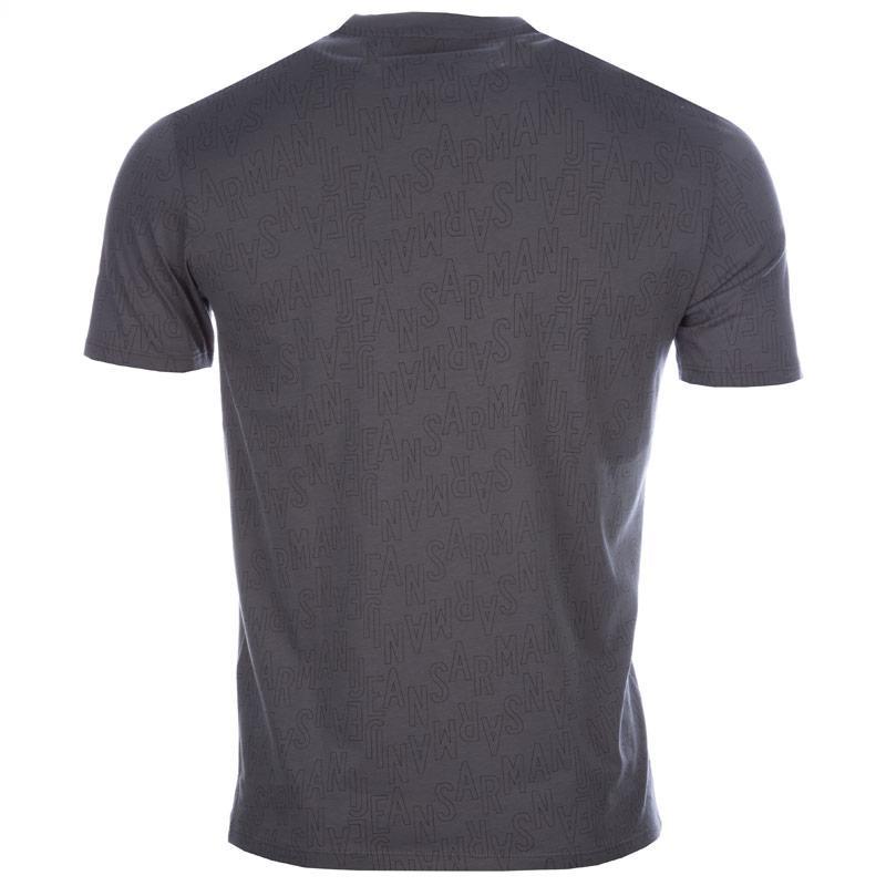 Tričko Armani Mens T-Shirt Grey, Velikost: L