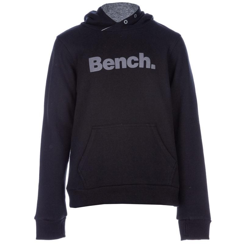 Mikina Bench Infant Boys Loop Back Hoody Black
