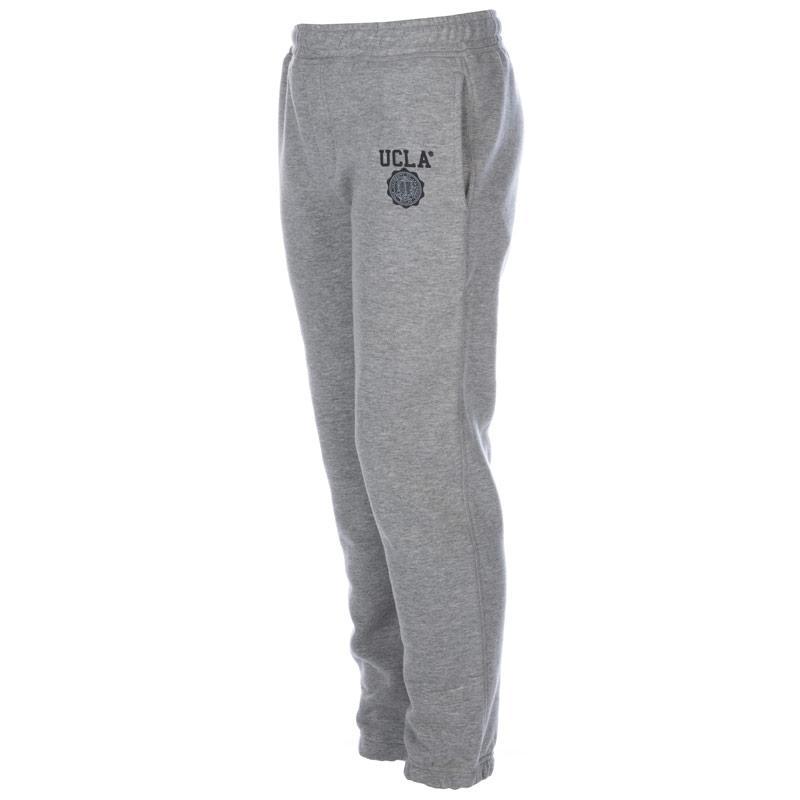 Kalhoty Ucla Junior Boys Peterson Jog Pant Grey Marl