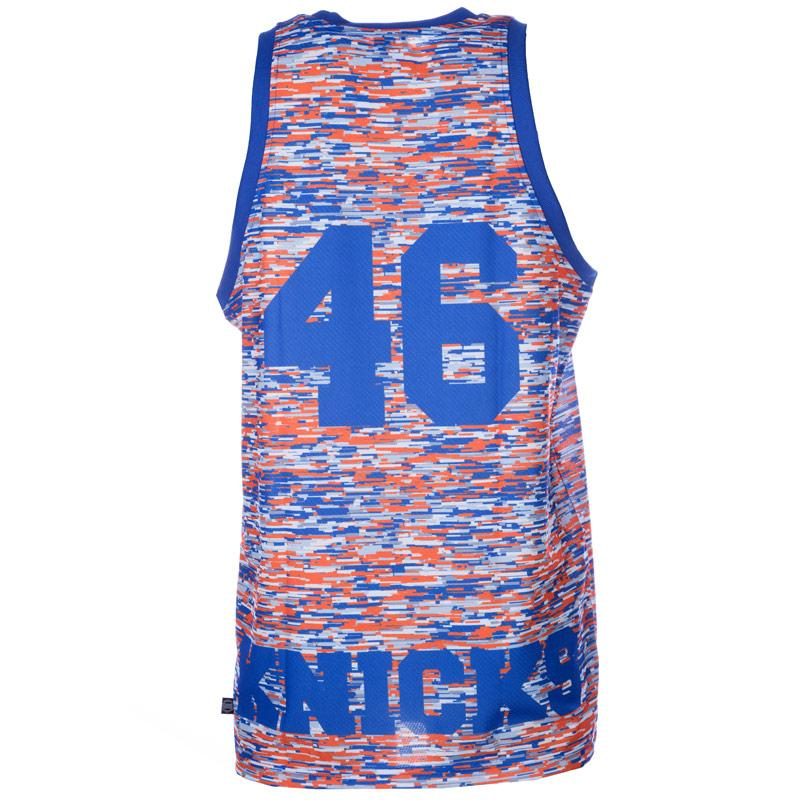 Tílko Adidas Originals Mens New York Knicks Tank Blue