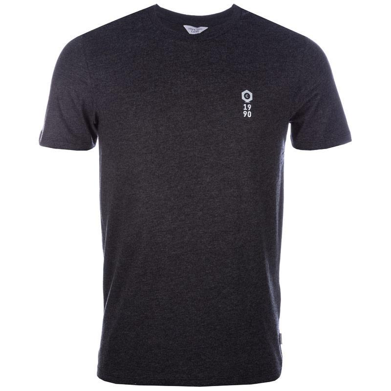 Tričko Jack Jones Mens Energy Crew T-Shirt Black