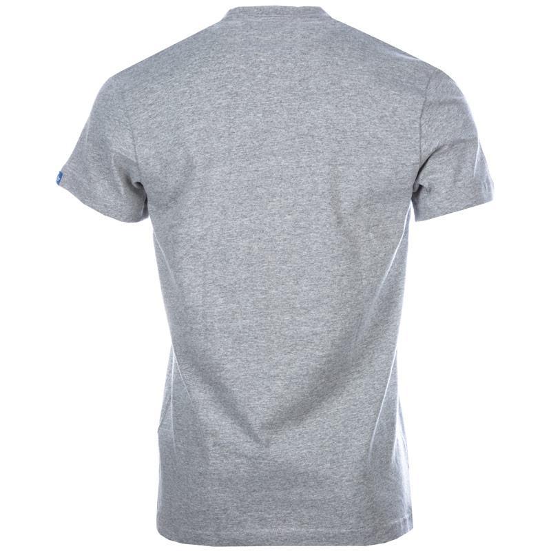 Tričko Adidas Originals Mens Label Pose T-Shirt Grey Marl