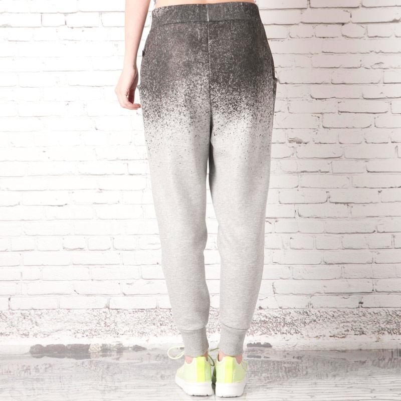 Tepláky Adidas Originals Womens Rita Ora Loose Pants Grey black, Velikost: L