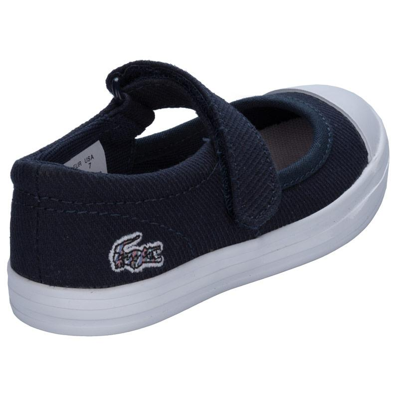 Lacoste Infant Girls Zayla 116 Trainers Navy