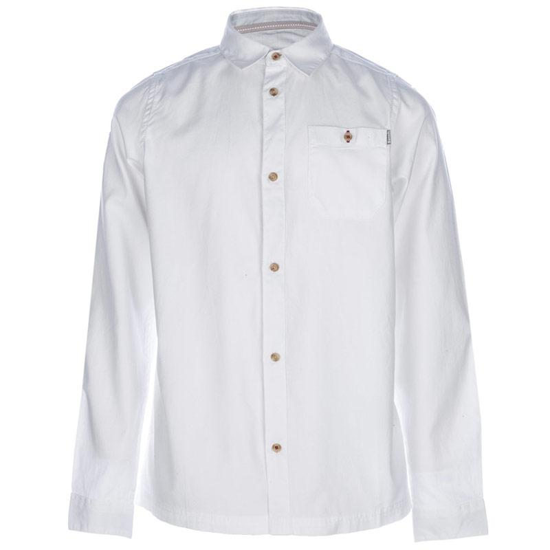 Košile Bench Junior Boys Incitement Button Shirt White