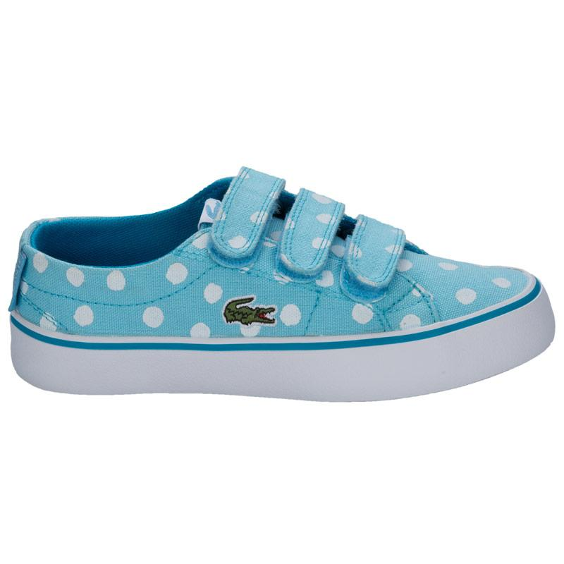 Lacoste Children Girls Marcel Chunky Trainers Light Blue