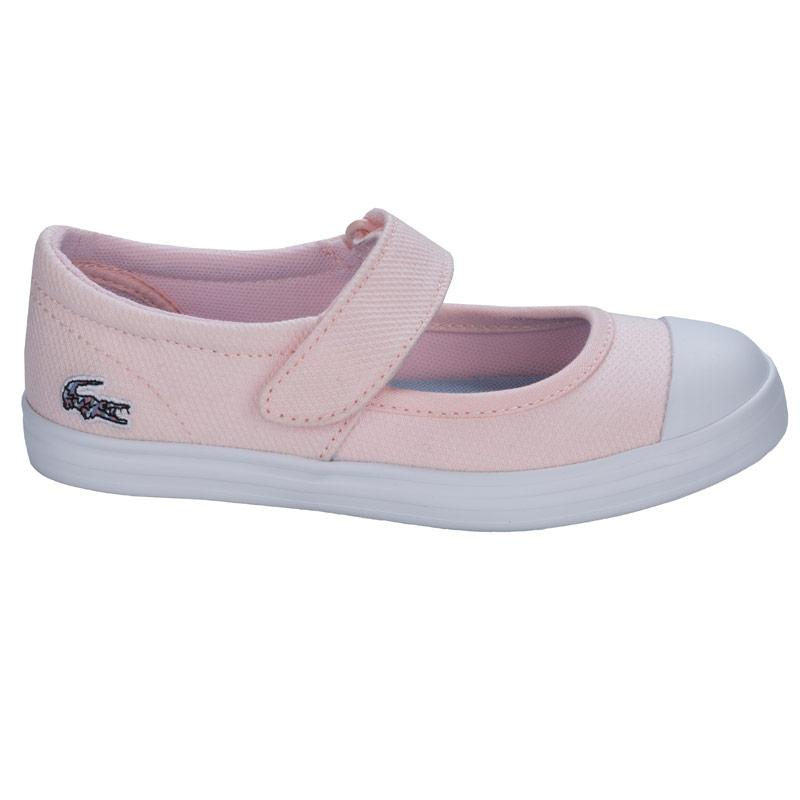 Lacoste Children Girls Zayla 116 Trainers Pink