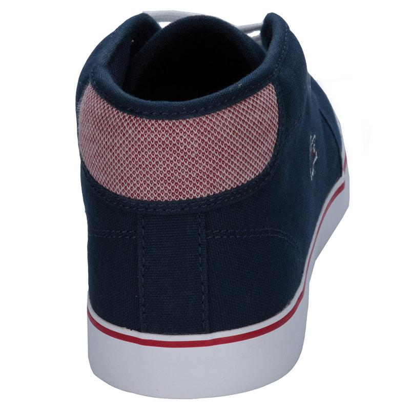 Boty Lacoste Junior Boys Ampthill Trainers Navy