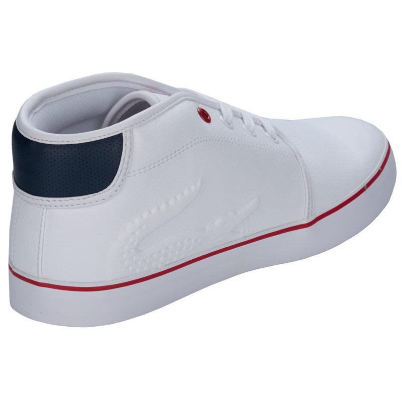 Boty Lacoste Junior Boys Ampthill Trainers White