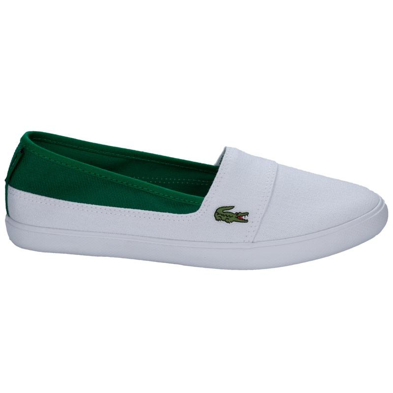 Boty Lacoste Junior Boys Marice Trainers White Green