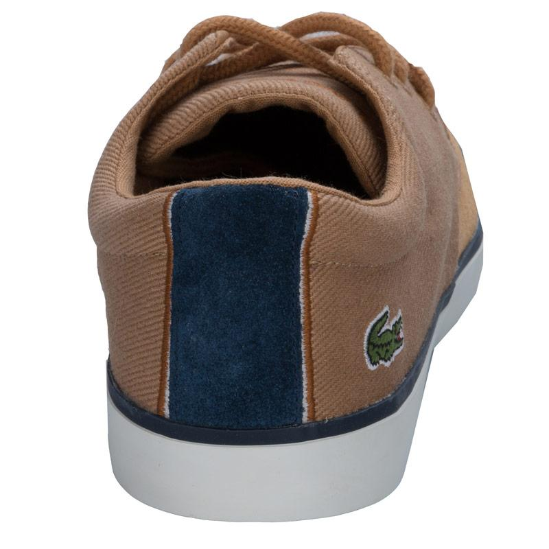 Boty Lacoste Junior Boys Severin Trainers Tan