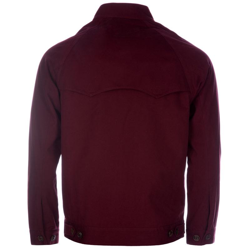 Bunda Gabicci Vintage Mens Harrington Style Jacket Red, Velikost: S