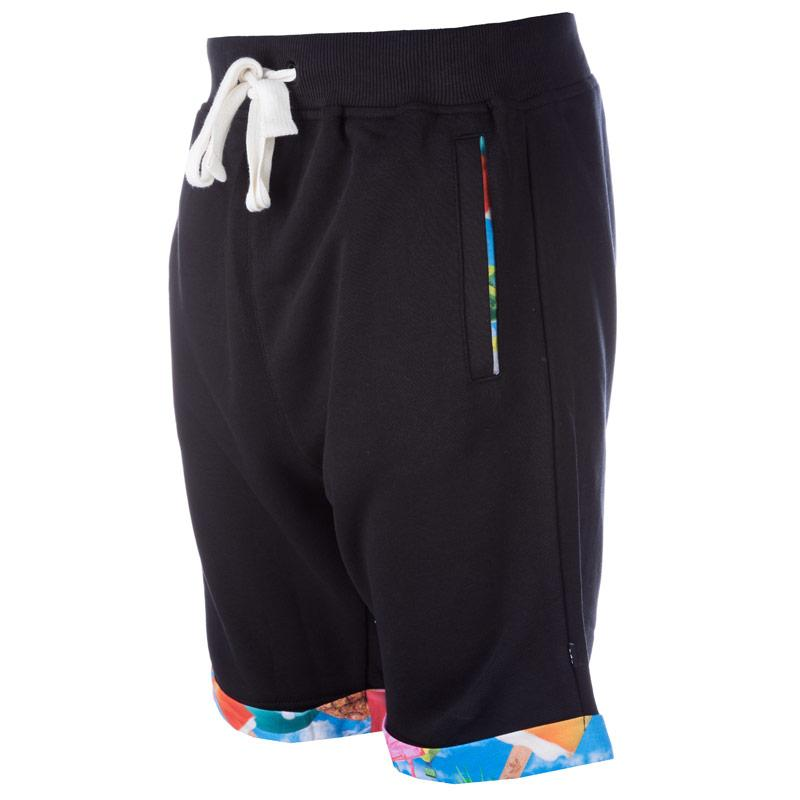 Kraťasy Adidas Originals Mens Carrot Fleece Jog Shorts Black