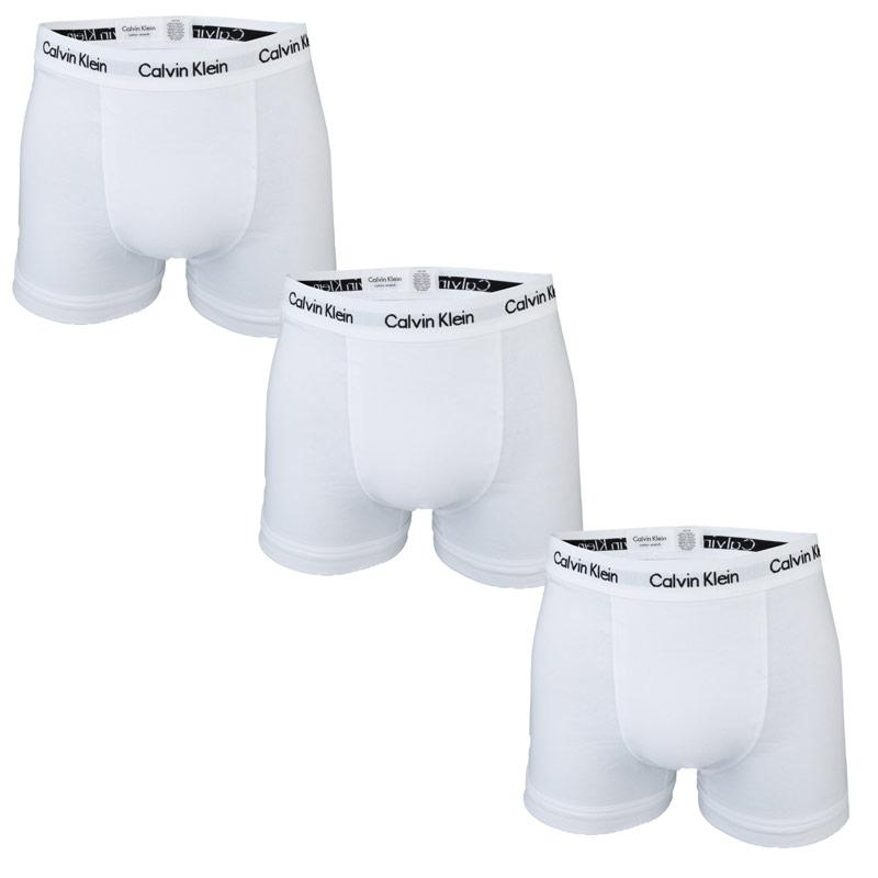Spodní prádlo Calvin Klein Mens 3 Pack Cotton Stretch Trunks...