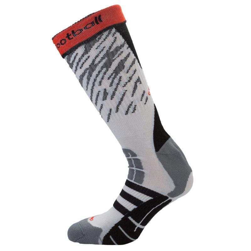 Ponožky Adidas Mens Battle Pack Training Socks White Grey