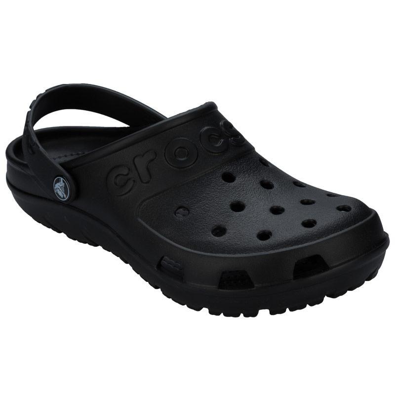 Crocs Womens Hilo Clog Sandals Black